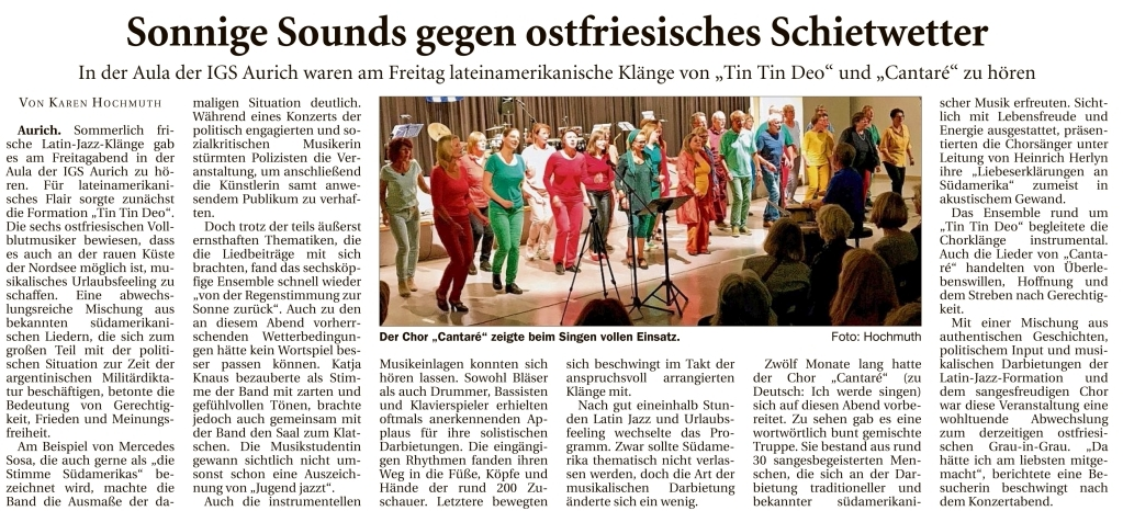 Ostfriesische-Nachrichten, Ausgabe: ON-Gesamt, vom: Montag, 11.